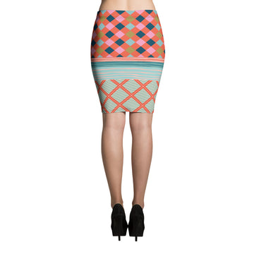 Coral Gables Pencil Skirt
