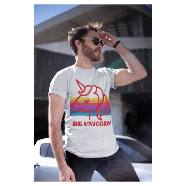Be Unicorn Tee, Tee- WhimzyTees