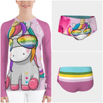 Believe in Magic Rash Guard - WhimzyTees