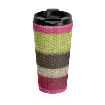 Geoffrey Bean Stainless Steel Travel Mug
