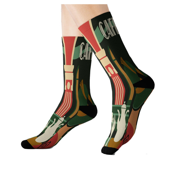 Cafe Deluxe Socks - WhimzyTees