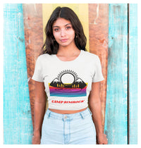 Camp Rimrock Crop Tee, Crop Tee- WhimzyTees