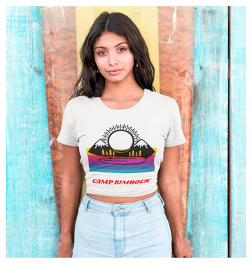 Camp Rimrock Crop Tee