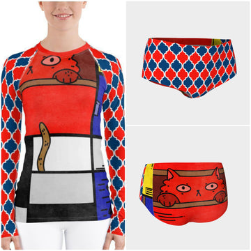 Cat in a Box Rashguard