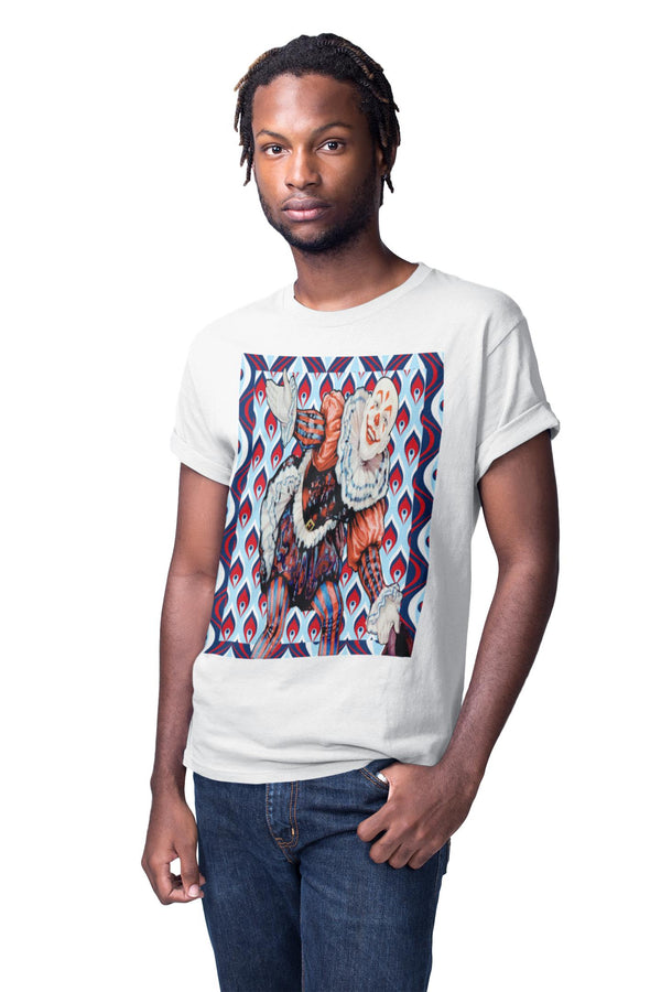Court Jester Tee (Blue) - WhimzyTees
