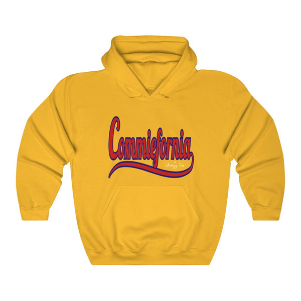 Commiefornia/Born Free Hoody, Flipit Red- WhimzyTees