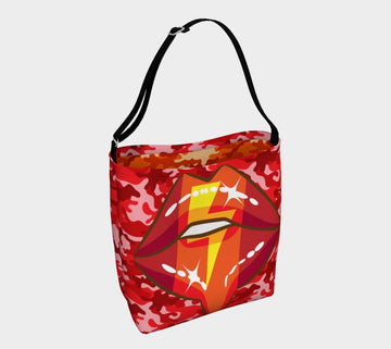 Bolt of Lightning Neoprene Tote