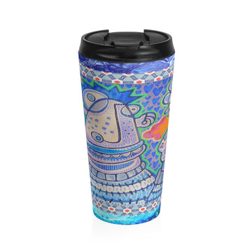 Limited Edition | Art |Mr Hydde - Love You Stainless Steel Travel Mug