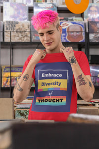 Diversity of Thought Tee - WhimzyTees