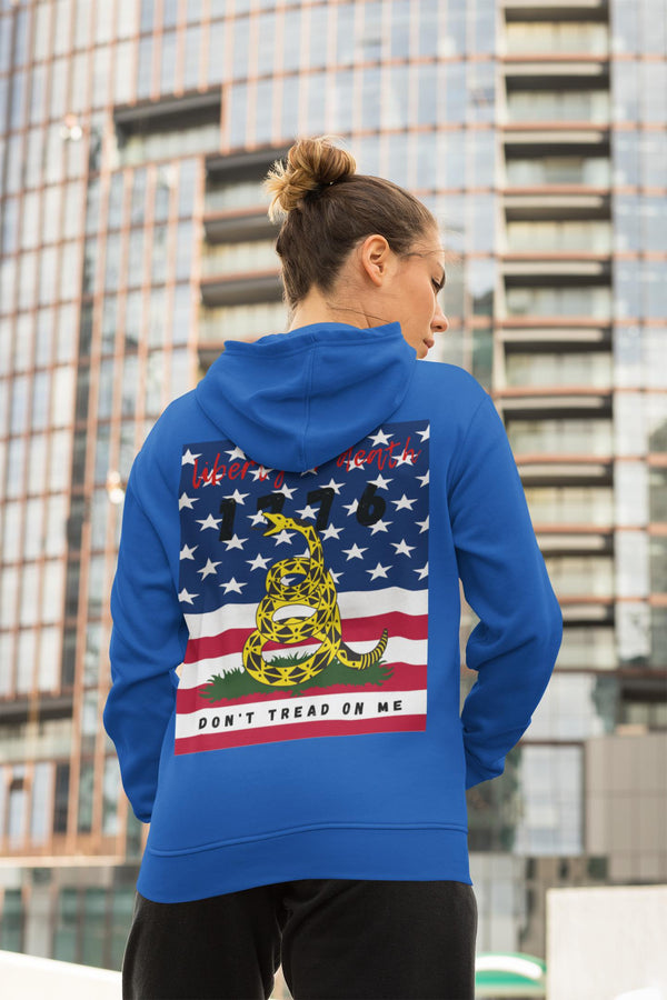 Don't Tread on Me Hoody - WhimzyTees