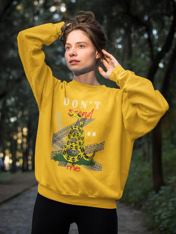 Don't Tread on Me - Original HD Crewneck Sweatshirt