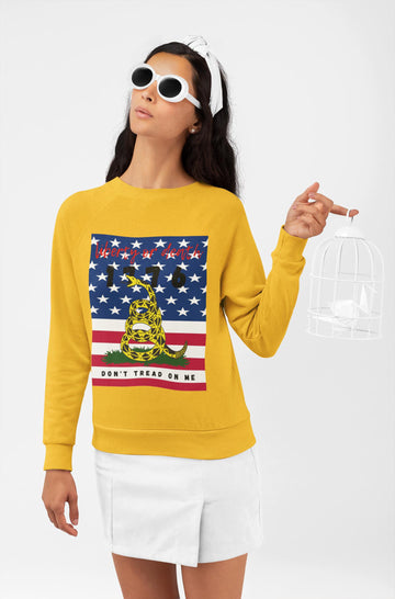 Don't Tread on Me/Liberty 1776 HD Crewneck Sweatshirt
