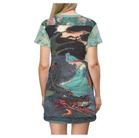 Dragon Fairy T-shirt Dress, Dress- WhimzyTees