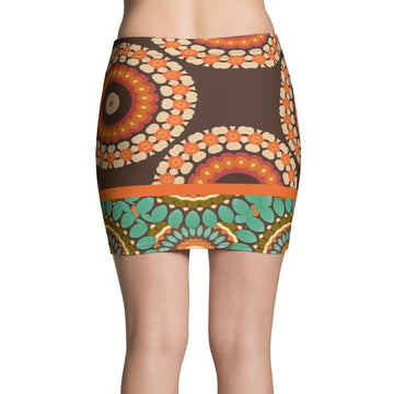 Divine Durga Mini Skirt