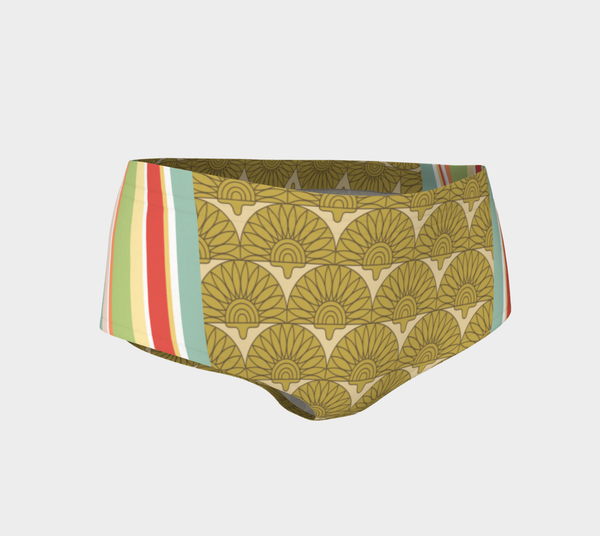 Green Alameda Swim Briefs, Swim Briefs- WhimzyTees
