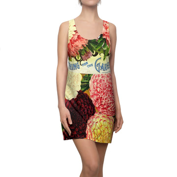 The Dahlia Bush Racerback Dress
