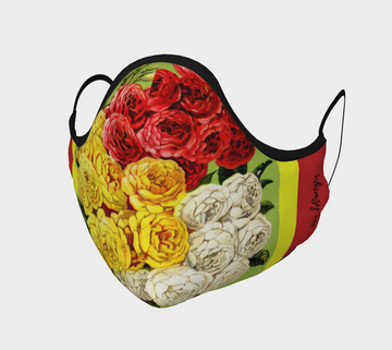 Parade of Roses Face Mask