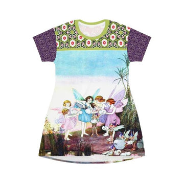 Garden Party T-shirt Dress