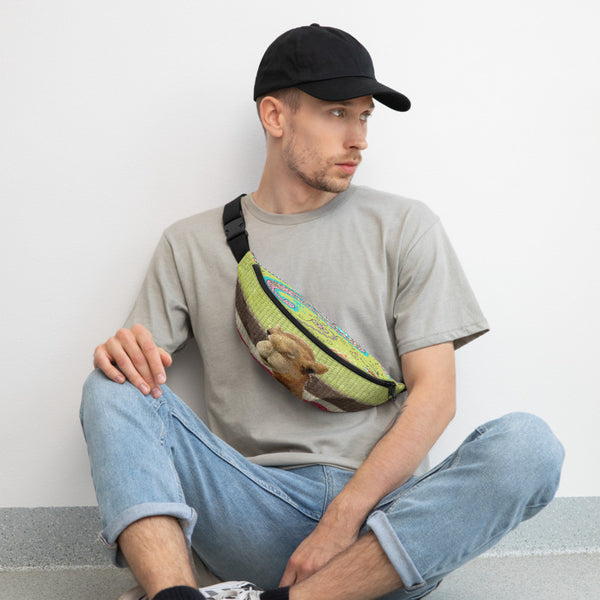 Geoffrey Bean Fanny Pack, Fanny Pack- WhimzyTees