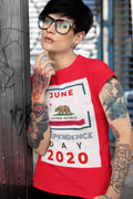Independence Day - June 2020 California Tee