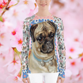 Jingle Pug Rashguard