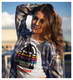 Jukebox Dayz Crop Top, Crop Tee- WhimzyTees