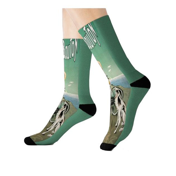La Bicyclette Socks, Socks- WhimzyTees