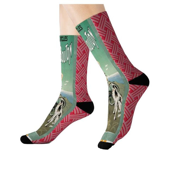 La Bicyclette Super-Extra Socks - WhimzyTees