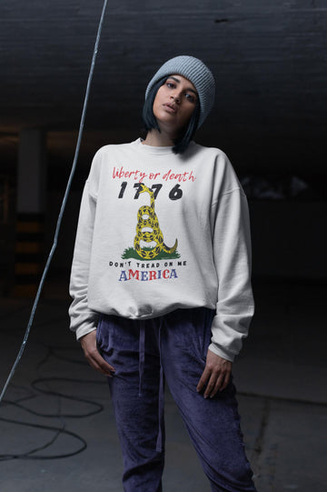 Liberty or Death - America HD Crewneck Sweatshirt