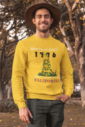 Liberty or Death - California HD Crewneck Sweatshirt
