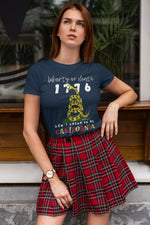 Liberty or Death - California Tee, Flipit Red- WhimzyTees