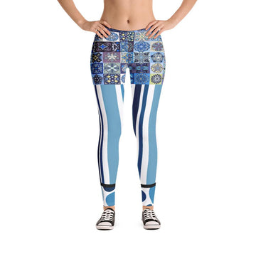The Blue Alameda Leggings