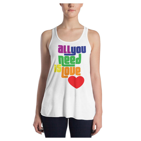 All You Need Pride Racerback Tank - WhimzyTees