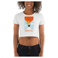 Adventure Time Crop Tee, Crop Top- WhimzyTees