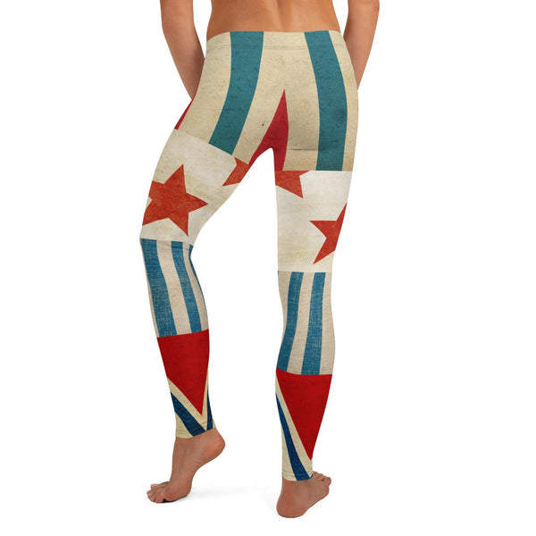 Star Spangled Leggings - WhimzyTees