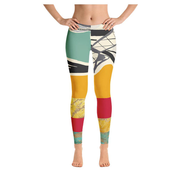 Paris Follies Leggings (V2) - WhimzyTees