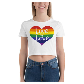 LOVE is LOVE Crop Tee