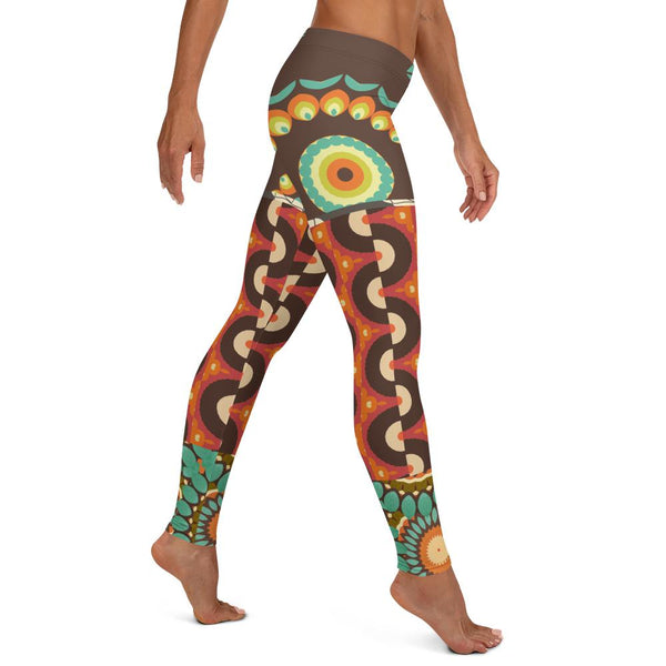 The Black Madonna Leggings, Leggings- WhimzyTees