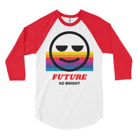 Bright Future Baseball Tee, Baseball Tee- WhimzyTees