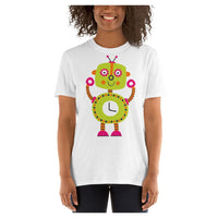 Timmy the Robot Tee, Tee- WhimzyTees