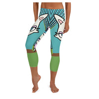 Diva Cat Capris - WhimzyTees