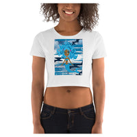 Mermaid Queen (V2) Crop Tee - WhimzyTees