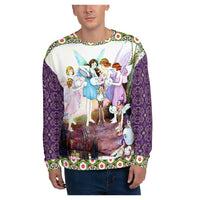 Garden Party Sweatshirt, Sweatshirt- WhimzyTees