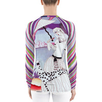 The Purple Alameda Rashguard, Rashguard- WhimzyTees
