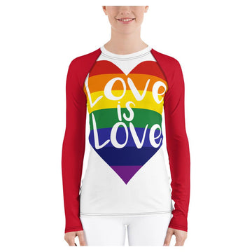 Love is Love Rash Guard