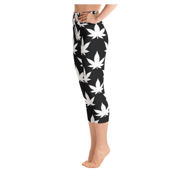 Extreme Conditions Yoga Capris, Leggings- WhimzyTees