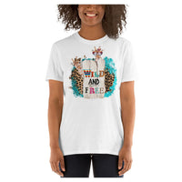 Wild and Free Tee, Tee- WhimzyTees