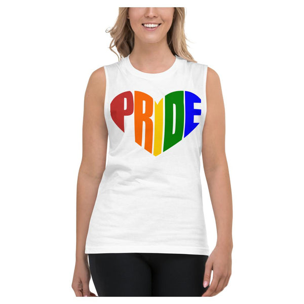 PRIDE Muscle Shirt, Tank- WhimzyTees