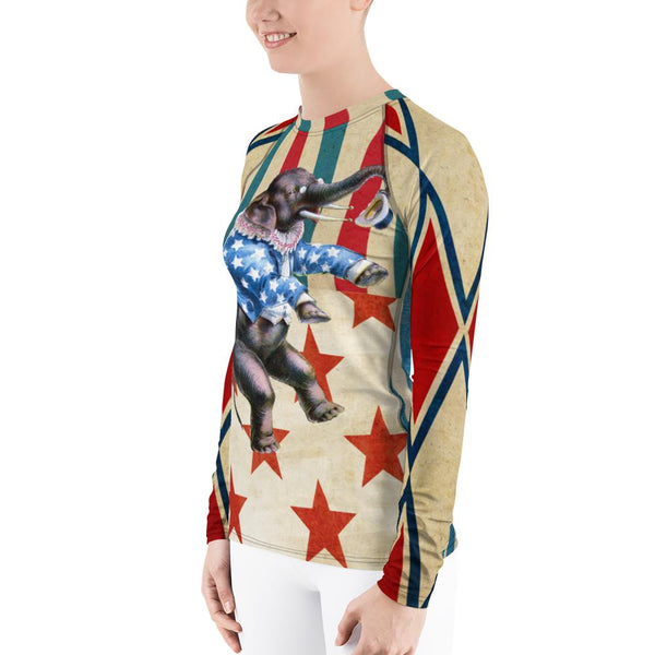 Star Spangled Rash Guard, Rashguard- WhimzyTees