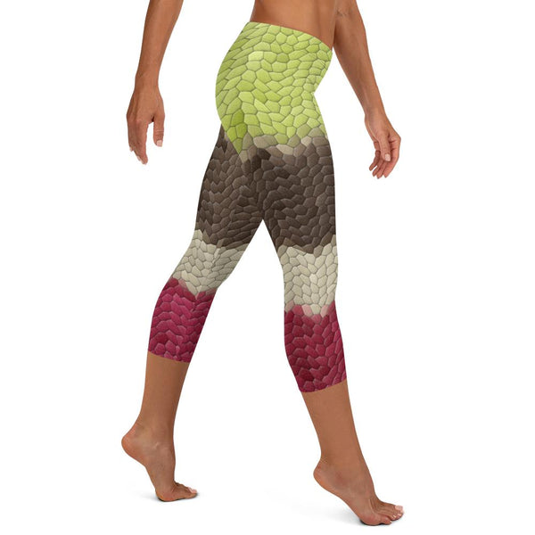 Geoffrey Bean Capris, Leggings- WhimzyTees